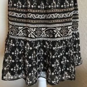 Madewell Floral Skirt, Size XS